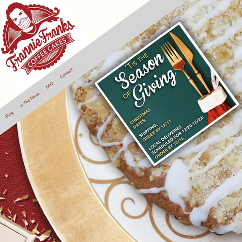Frannie Franks Coffee Cakes