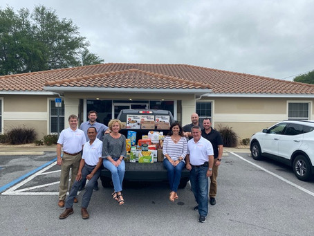Food Drive for the St. Petersburg Free Clinic
