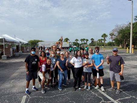 Feeding Tampa Bay Volunteer Day with Kempton Rinard
