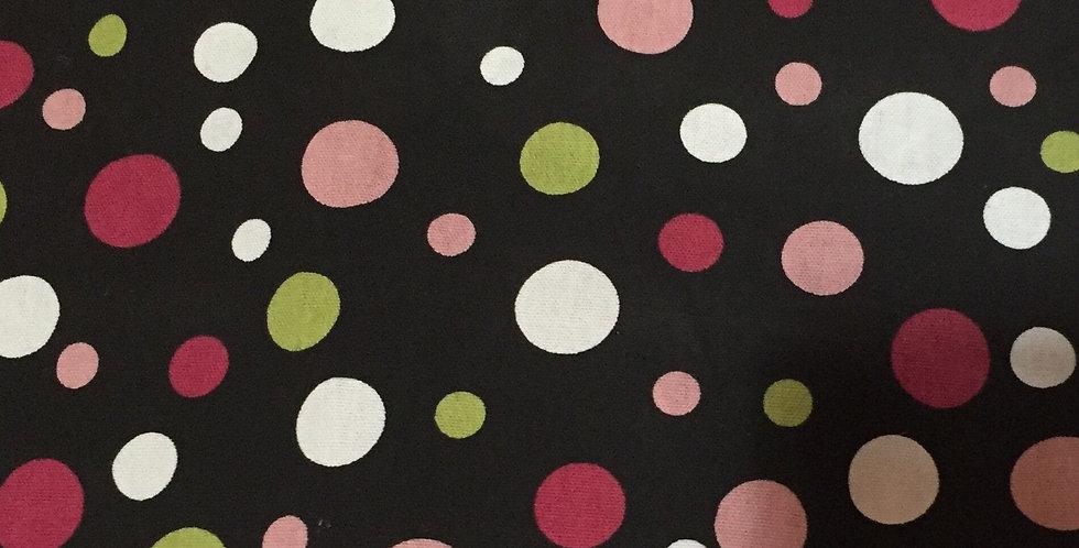 Black - Pink - Green - Polka Dots