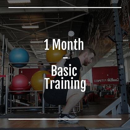 1 Month Basic Training