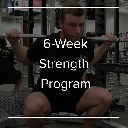 6 Week Strength Program