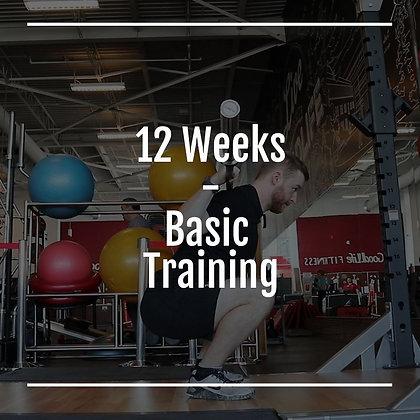12 Weeks Basic Training Program
