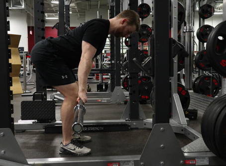 Back Position In The Deadlift