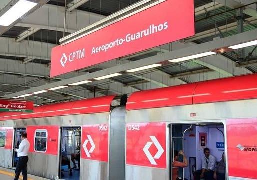 Começa a circular o Trem entre Brás até o aeroporto de Guarulhos
