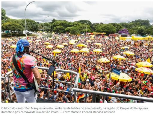 São Paulo não terá foliões em 2021