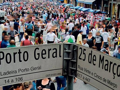 Projeto pode tornar a Rua 25 de março em polo turístico, histórico e cultural