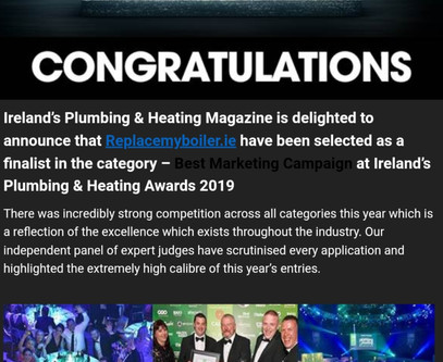 2019 plumbing and heating awards