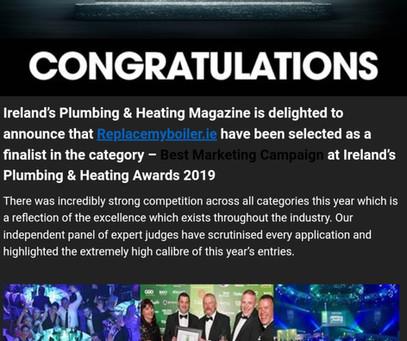 2019 plumbing and heating awards