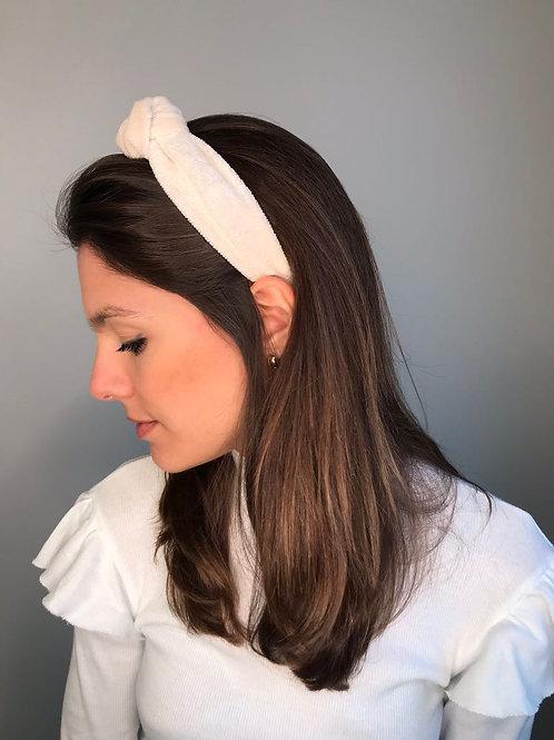 Tiara de cabelo Rachel com nó