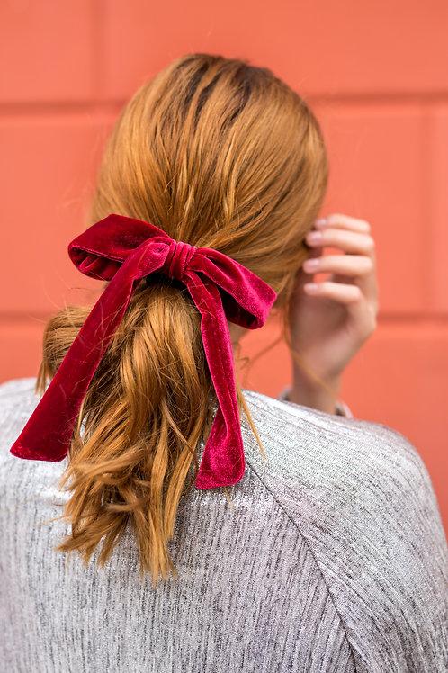 Laço de cabelo Stella em veludo
