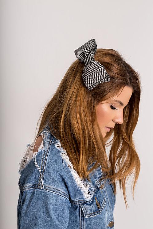 Laço de cabelo Gabriela em tweed