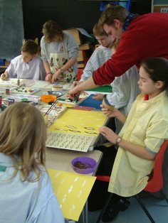 Crafts Study Centre Commissions - Education and Outreach Projects - Hale School