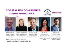 Coastal Risk Governance: Lessons from COVID‑19