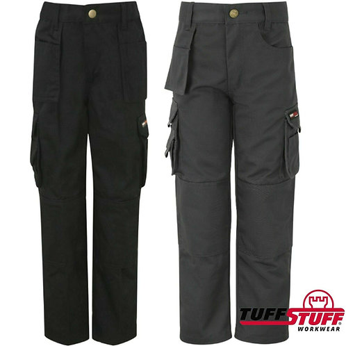 KIDS CHILDRENS BOYS GIRLS JUNIOR TUFF STUFF PRO HEAVY DUTY WORK PLAYTIME TROUSER