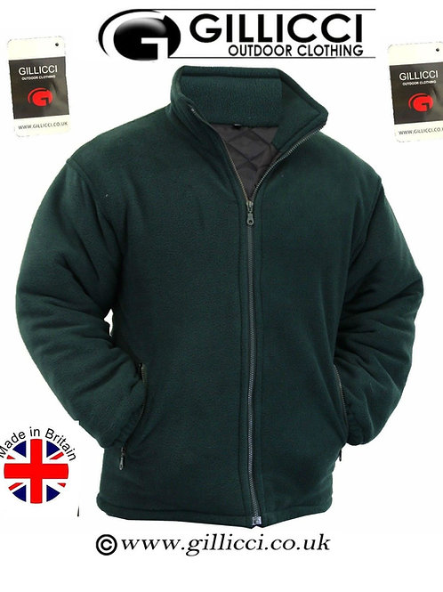 MENS GILLICCI WOMENS HEAVY WARM PADDED OUTDOOR CASUAL CAMPING WARM FLEECE JACKET