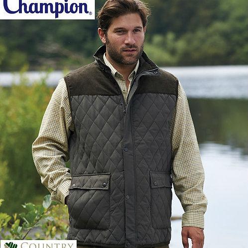 Champion Men's Arundel Warm Fleece Lined Padded Thick Gilet Bodywarmer Waistcoat