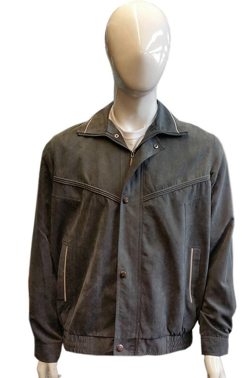 MEN'S FASHION WATER REPELLENT MICRO FEEL MICRO MOSS SUMMER WEIGHT COAT JACKET