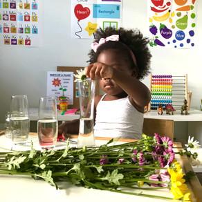 Toddler Flower Arrangement