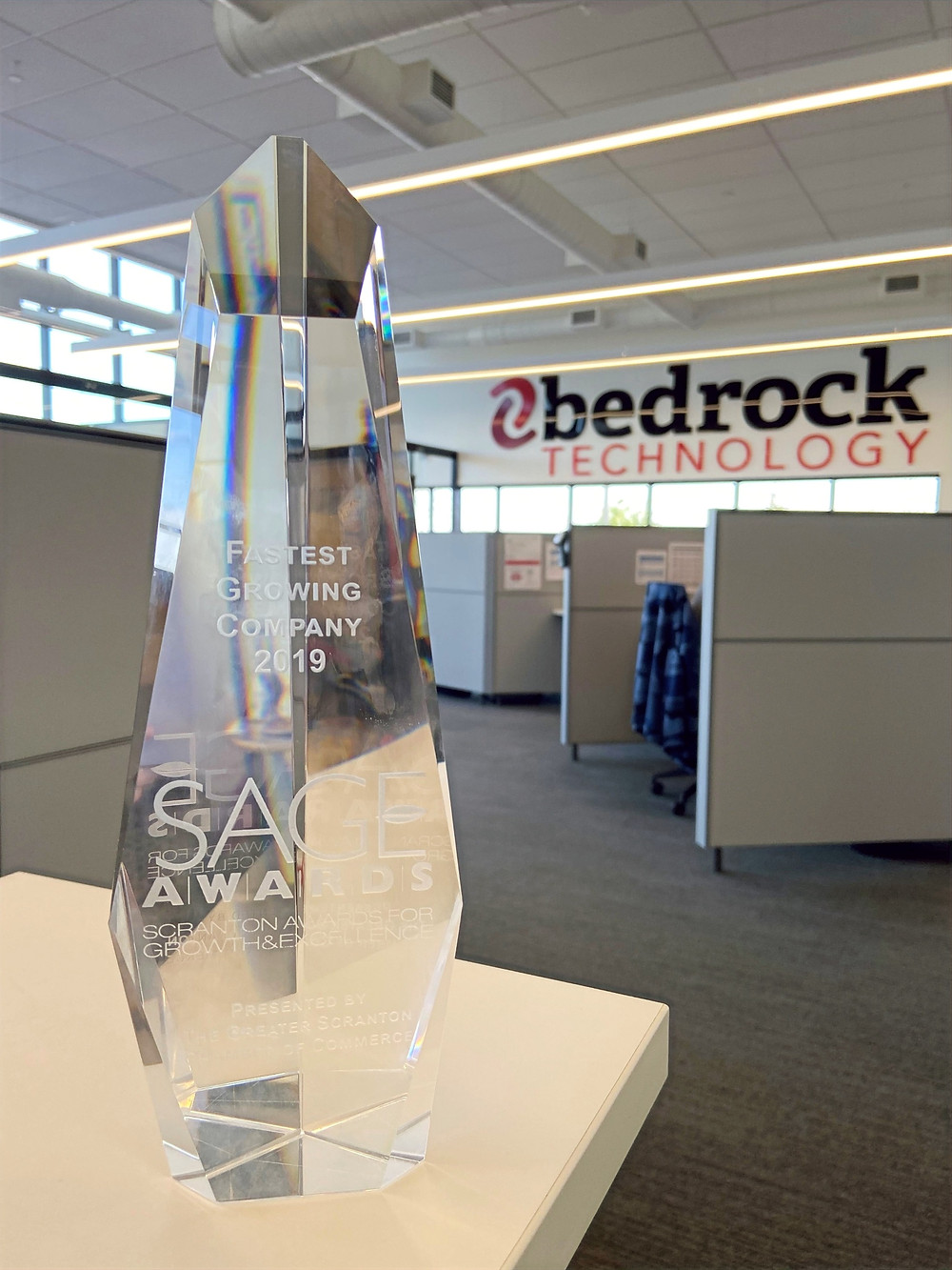2019 SAGE Award for Fastest Growing Company