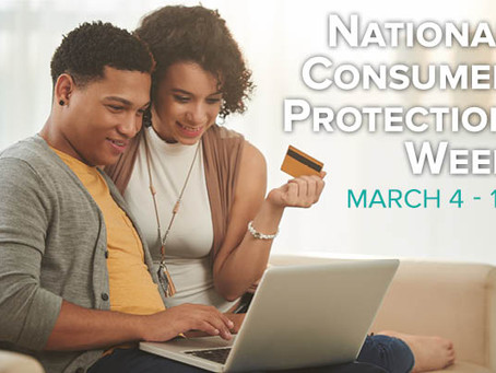 National Consumer Protection Week