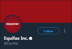 Equifax has been tweeting out a phishing site