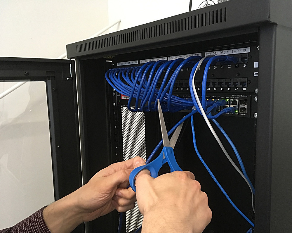 disgruntled employee network server