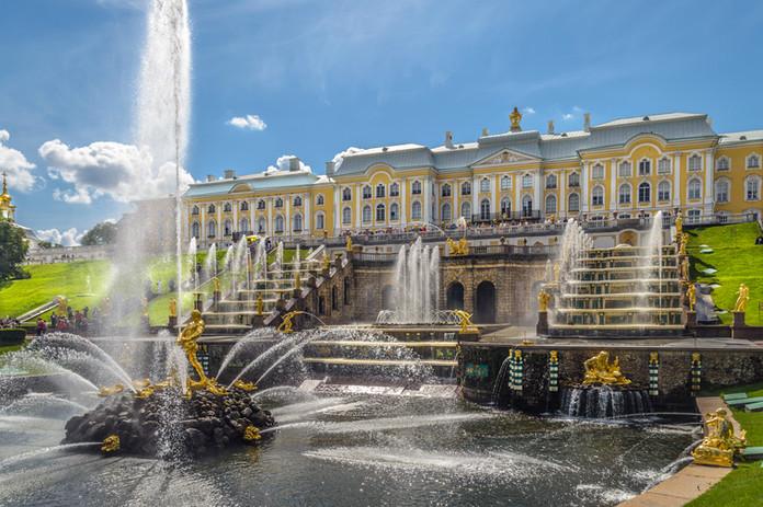La banlieue Peterhof