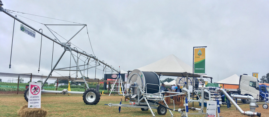 Irrigabras marca presença na Coopershow