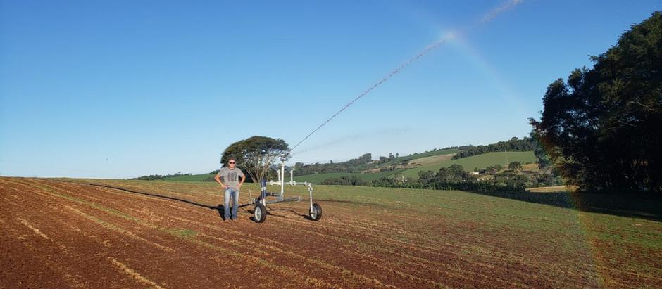 Fala, irrigante! Irrigação ajuda produtor a conseguir retorno financeiro