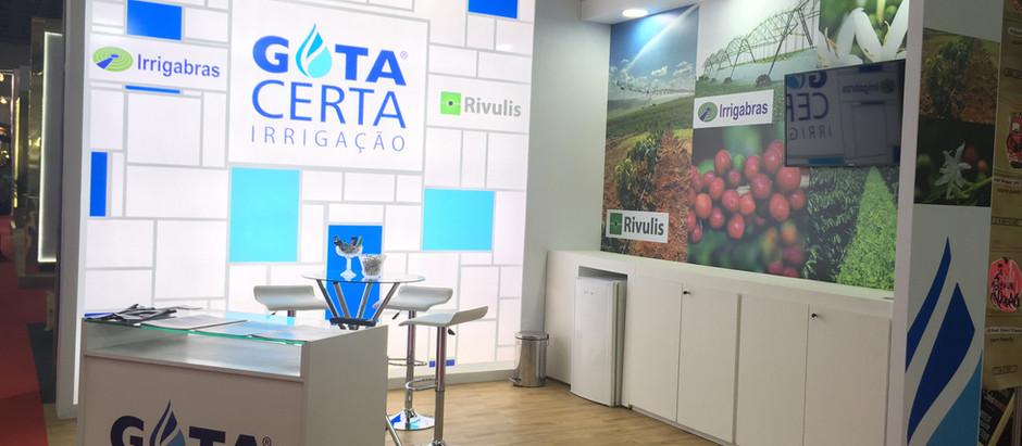 Irrigabras apoia participação da Gota Certa Irrigação na Semana Internacional do Café