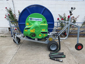 carretel de irrigacao irrigabas rolao enrolador irrigat