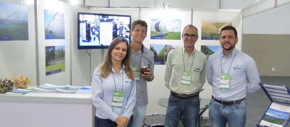 Destaque no setor, Irrigabras participa da Feira Internacional de Irrigação Brasil