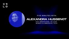 REWIND- Five Minutes With: Alexandra Hussenot