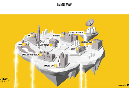 VRDays Event - November 4-5-6, Web Map is live, powered by Immersionn. Get your tickets today!