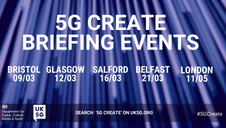 The new 5G Create competition will open in early March and run until the end of June. #5GCreate