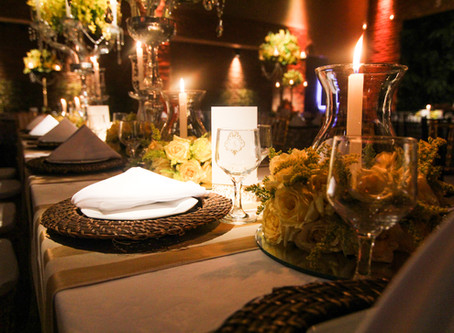 Como organizar as mesas da sua festa de casamento