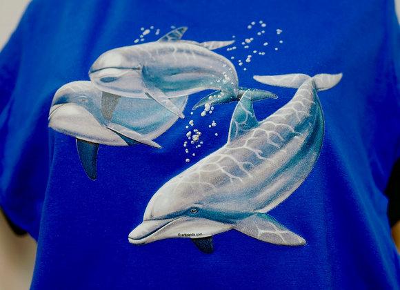3D Dolphin Shirt