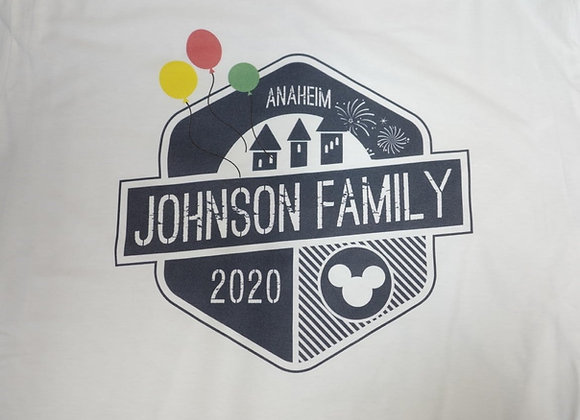 Anaheim Family Vacation Shirt