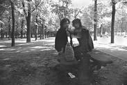 Lovers, Park Bench   Les Amoureux, le Banc Public