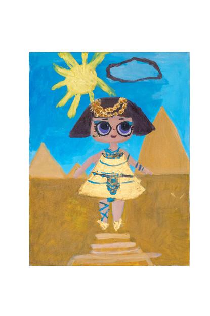 Pharaoh – Babe, acrylic on canvas, 60×80
