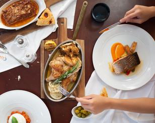 Menu photoshoot for CIRCO restaurant, Abu Dhabi