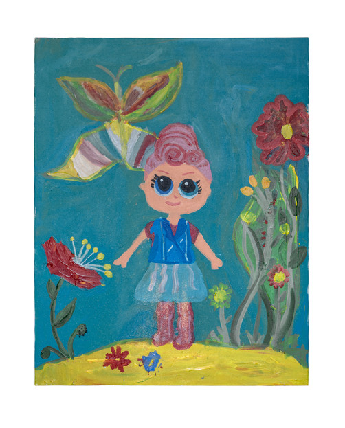 Princess Julia, acrylic on canvas, 70×90