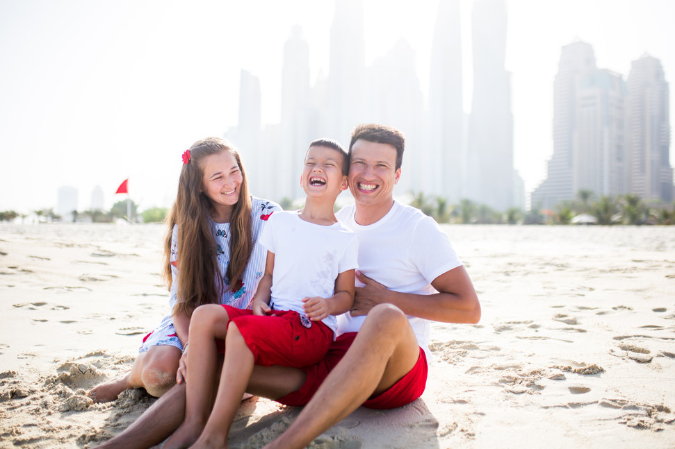 Fun at JBR, Dubai.