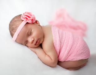 Magic dreams of little princess Maria.