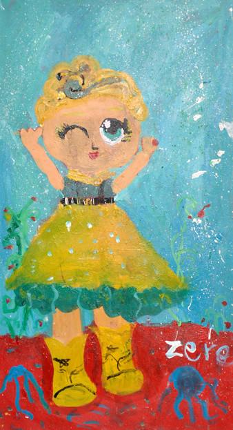 Star, acrylic on canvas, 70×90