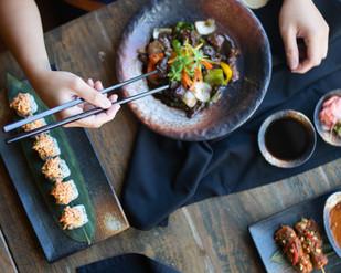 Menu photoshoot for Cho GHO restaurant, Abu Dhabi