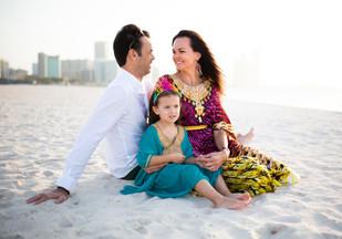 All around Abu Dhabi with stunning family.