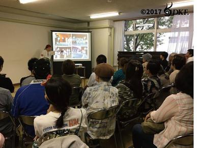 【報告】デフ空手道開拓者に学ぶ高橋忠世氏の講演