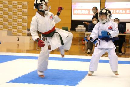 樋川選手(右)